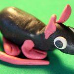 Фото 131: Крыса из пластилина