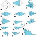 Фото 79: Крыса оригами
