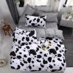 Фото 125: Постельное белье с принтом коровы на Новый Год