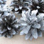 Фото 92: Серебряные шишки для декора дома