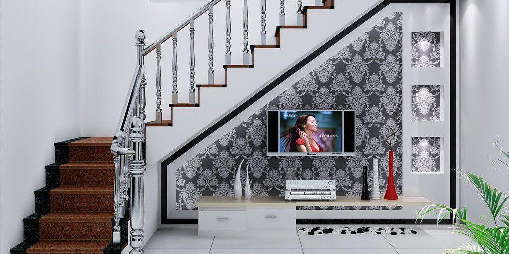 Лестничные перила в интерьере дома