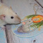 Фото 110: Вышивка с мышкой