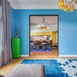Фото 30: Дизайн яркий гостиной