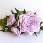 Фото 18: Заколка из роз