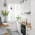 Фото 46: Идея для белой кухни