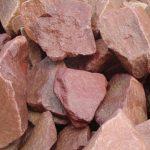 Фото 44: Камни для бани и сауны -малиновый кварцит