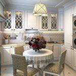 Фото 60: Кухня в светлых тонах