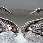 Фото 20: Лебеди из серебра