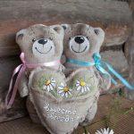 Фото 8: Мишки на льняную свадьбу