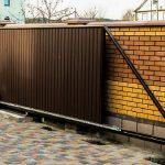 Фото 39: Откатные -ворота