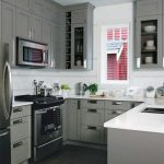 Фото 70: П-образная кухня