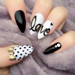 Фото 64: Рисунки на ногтях