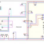Фото 2: (Рис. 1 Типовая схема электропроводки в доме).