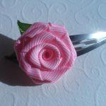 Фото 43: Розочка заколка