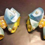 Фото 56: Сине жёлтые бантики