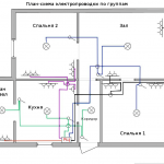Фото 7: Схема проводки