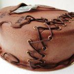 Фото 63: Торт на кожаную свадьбу