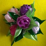 Фото 24: Тюльпаны заколка