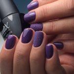 Фото 67: Фиолетовый маникюр