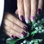Фото 70: Цветочный манкюр