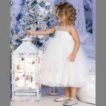 Фото 73: Белое новогоднее платье