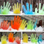 Фото 10: Цветные ледяные фигуры