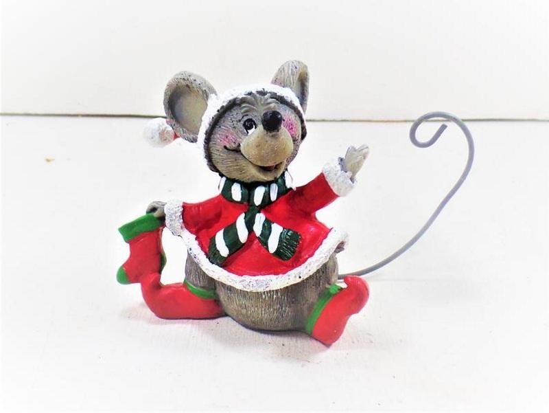 Фигурка новогодней крыски