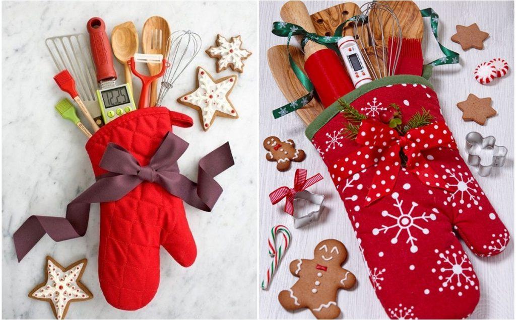 Рождественский кухонный набор мелочей в подарок на Новый Год