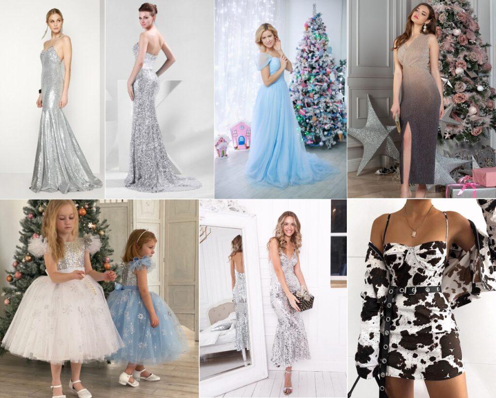 Новогодние платья к Году Быка 2021
