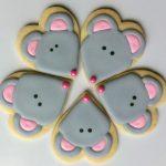 Фото 37: Печенье из соленого теста мышки