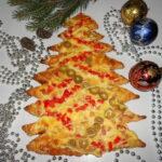 Фото 131: Пицца елочка на Новый Год