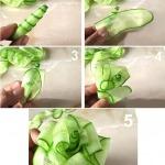Фото 110: Как сделать розу из огурца своими руками