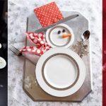 Фото 81: Сервировка тарелок под снеговиков