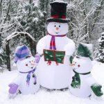 Фото 44: Снеговики