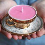 Фото 27: Свечка в чаше