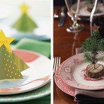 Фото 93: Новогоднее украшение тарелок фигурками