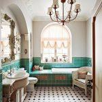 Фото 40: Английский стиль в ванной