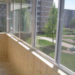 Фото 10: Балкон деревянный