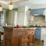 Фото 68: Белая кухня в английском стиле
