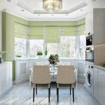 Фото 3: Белая кухня