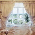 Фото 6: Белые шторы