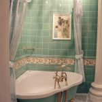 Фото 46: Ванная в бирюзовом цвете
