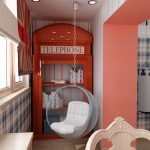 Фото 49: Детская комната в стиле англии