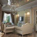 Фото 11: Дизайн гостиной и зала