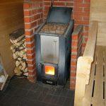 Фото 11: Железная печь в бане