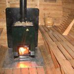 Фото 13: Железная печь
