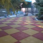 Фото 11: Жёлто-красная плитка