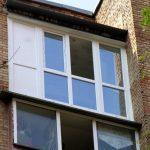 Фото 21: Застеклённый балкон