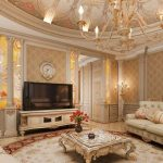 Фото 24: Интерьер зала в стиле классика