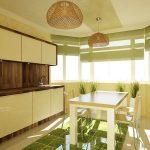 Фото 18: Интерьер кухни - эркер